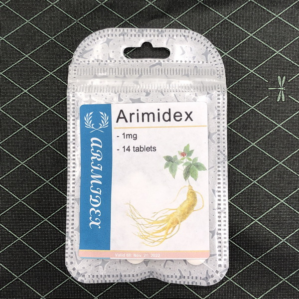 Arimidex 1mg x 14 tablets $24
